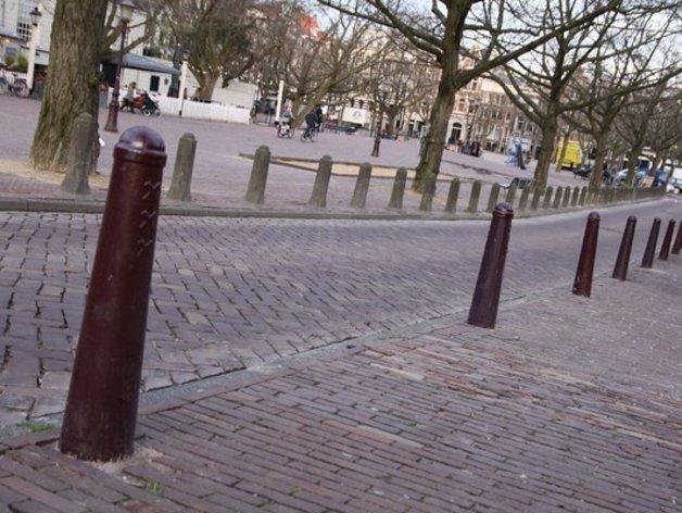 阿姆斯特丹安全护柱