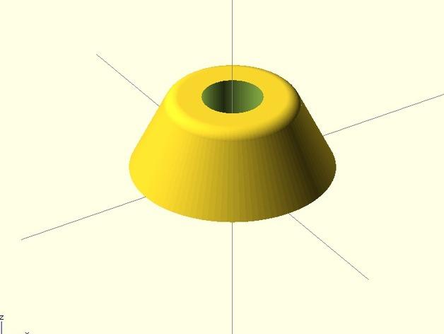 参数化底座 3D打印模型渲染图