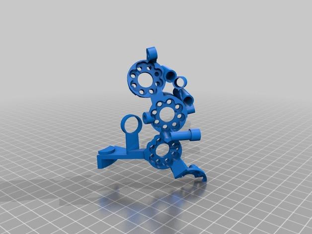 开源机器人躯干