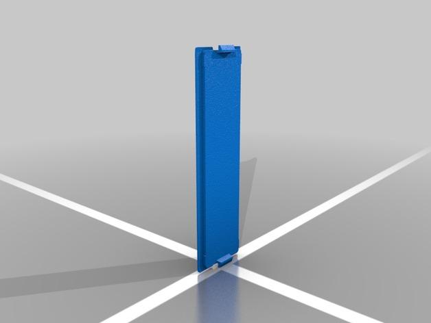 LCD显示屏外壳 3D打印模型渲染图