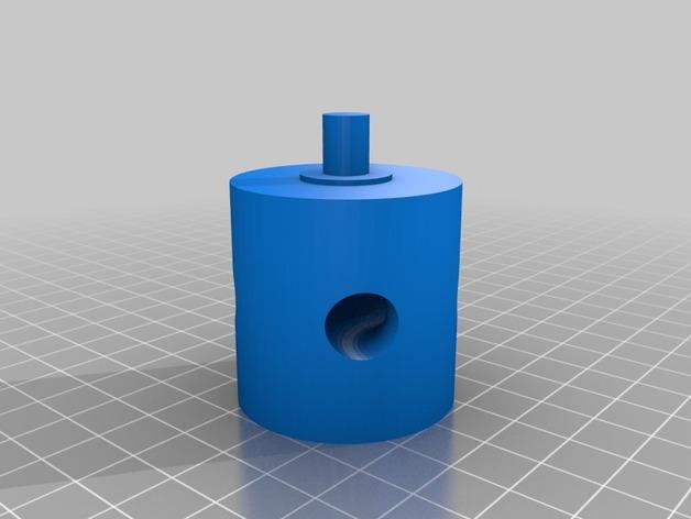 阀芯模型 3D打印模型渲染图