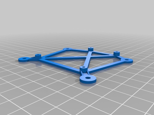Arduino电路板底座 3D打印模型渲染图