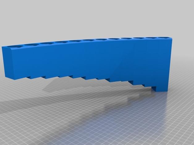 排萧 3D打印模型渲染图