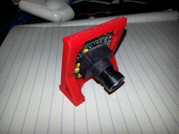 CCD摄像机支架 3D打印模型渲染图