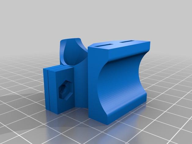 自行车 车灯支架 3D打印模型渲染图