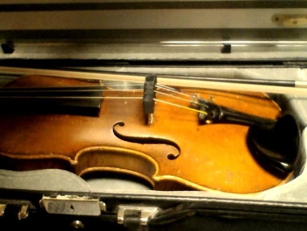 小提琴弱音器 3D打印模型渲染图