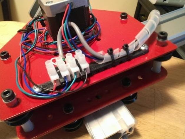 ShapeOko终端导线架 3D打印模型渲染图