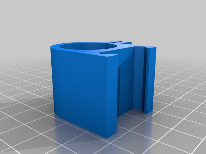 picatinny 皮卡丁尼导轨 3D打印模型渲染图