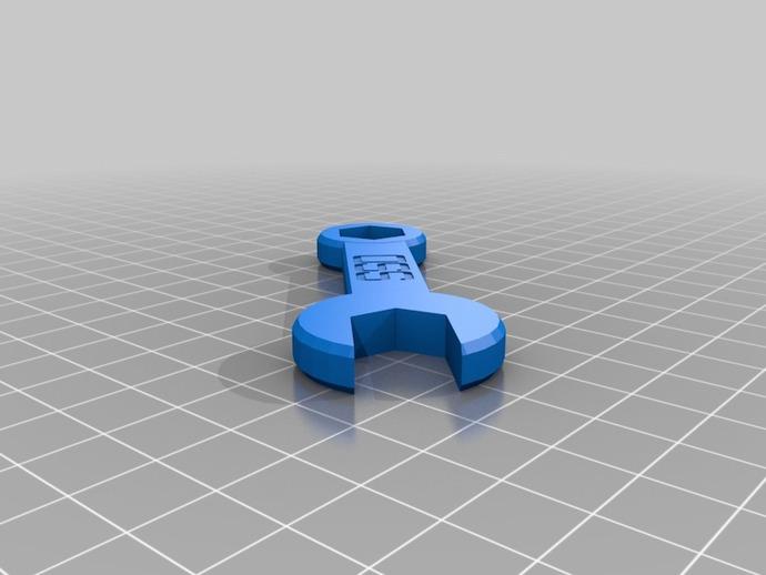扳手 3D打印模型渲染图
