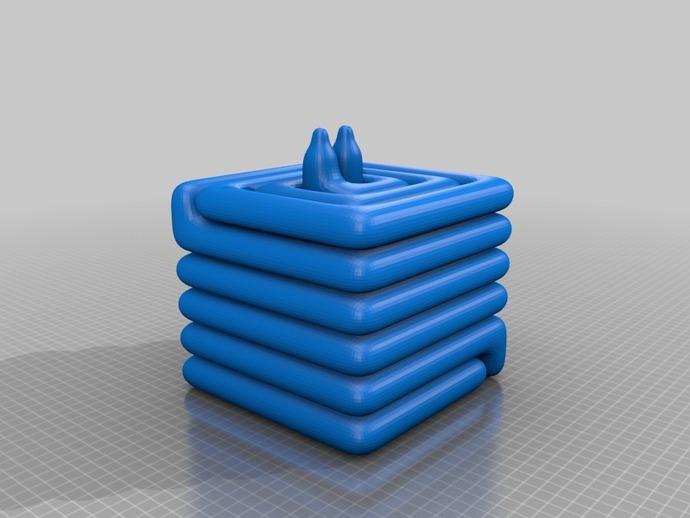 散热器 3D打印模型渲染图