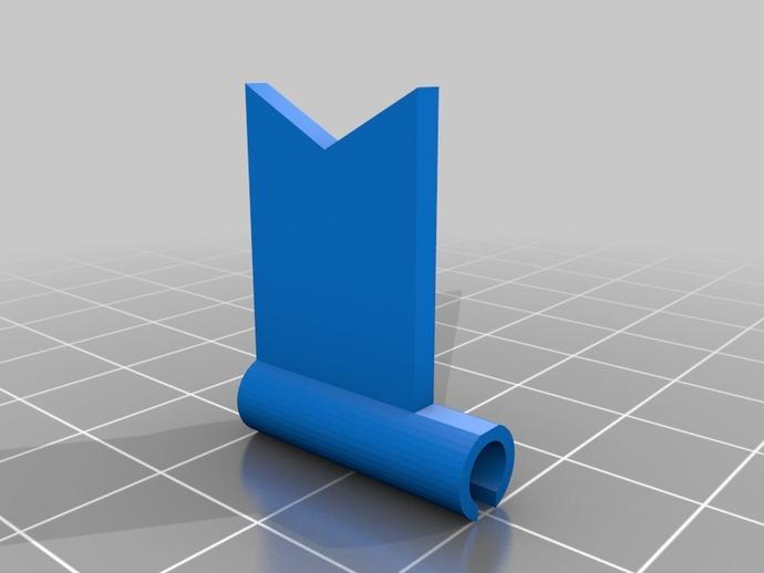 旗帜 3D打印模型渲染图