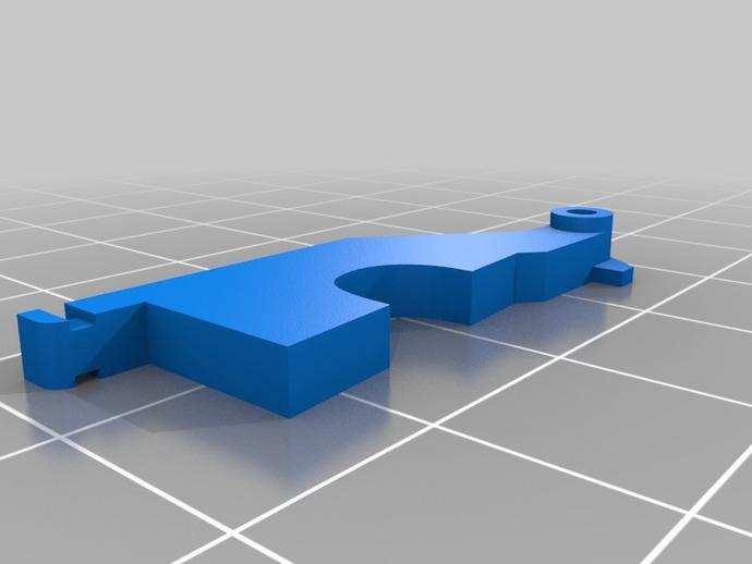 JR/SPEKTRUM RC 粘钩 3D打印模型渲染图