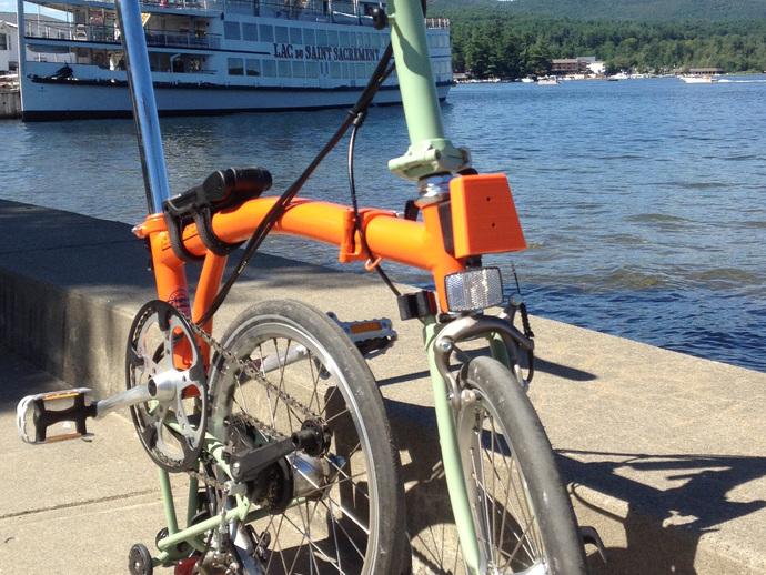 自行车载盖面