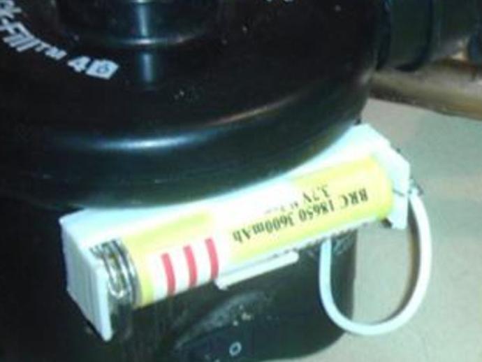 18650电池座