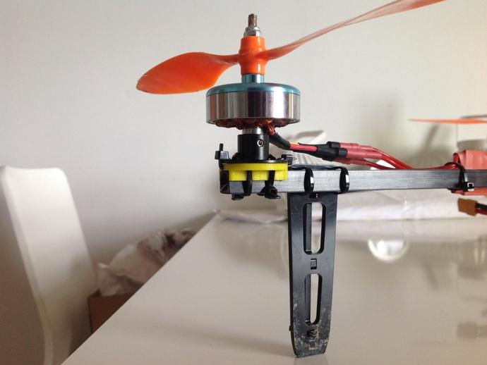DT750发动机架 3D打印模型渲染图