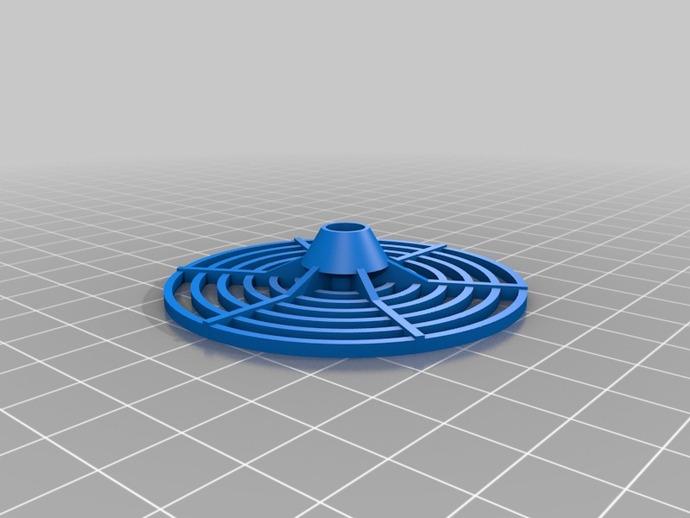 结实的磁盘玩具 3D打印模型渲染图