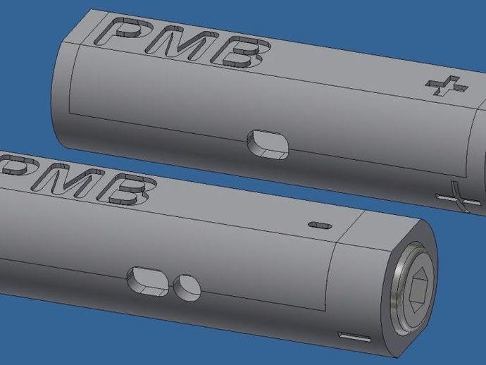 乐高 RCX,NXT,EV3测电器 3D打印模型渲染图