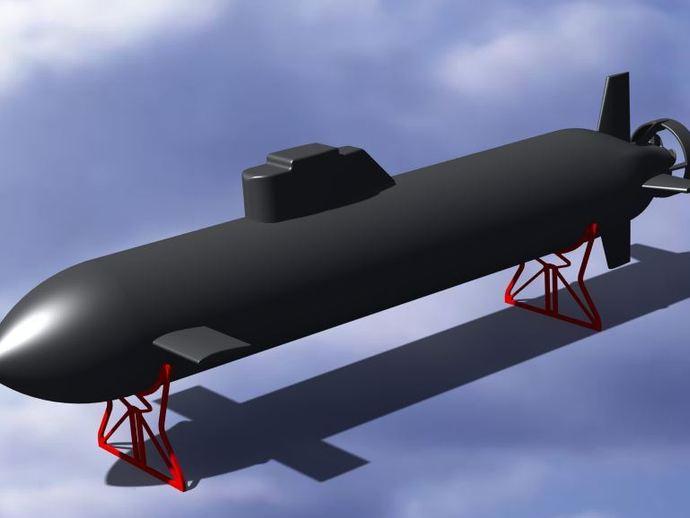 自制RC潜水艇