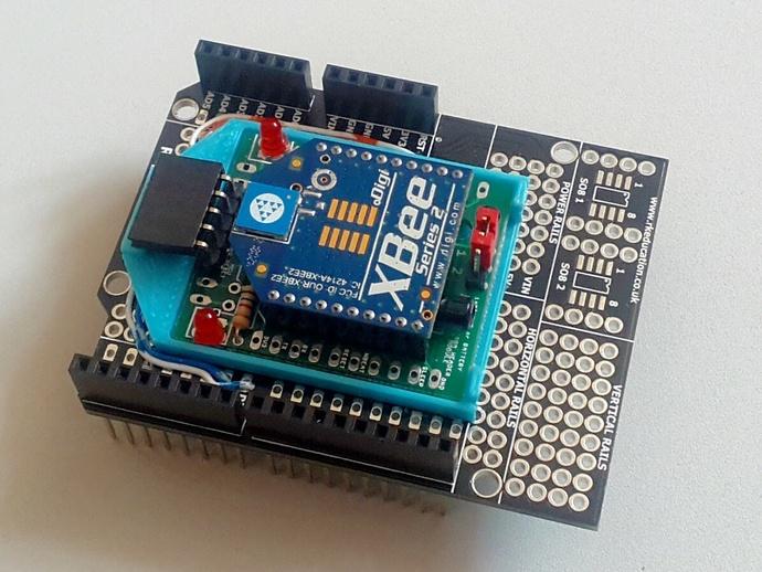 Arduino XBee板架