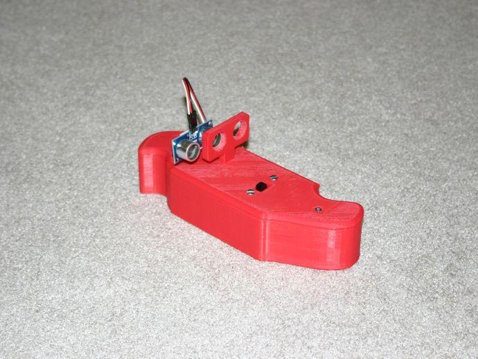 自行车报警器 3D打印模型渲染图