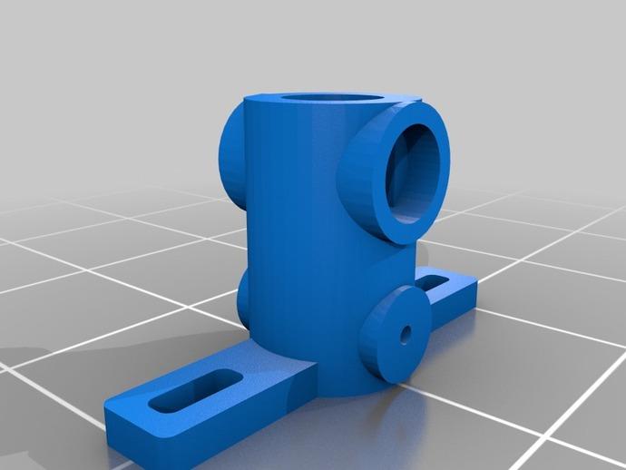旋翼头中央块 3D打印模型渲染图