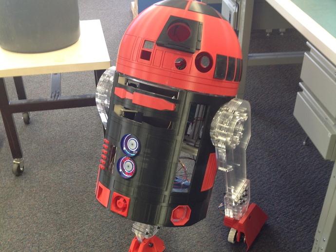 R2D2皮肤外观 3D打印模型渲染图