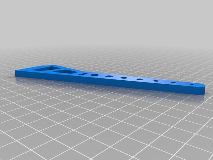 DJI F450 F550 风火轮 3D打印模型渲染图
