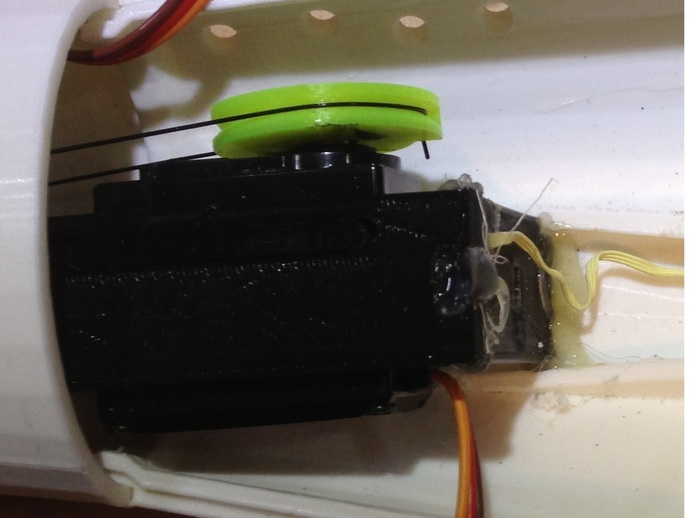 手指传感器 3D打印模型渲染图