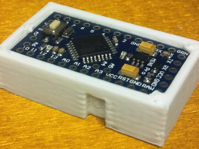 芯片板 3D打印模型渲染图