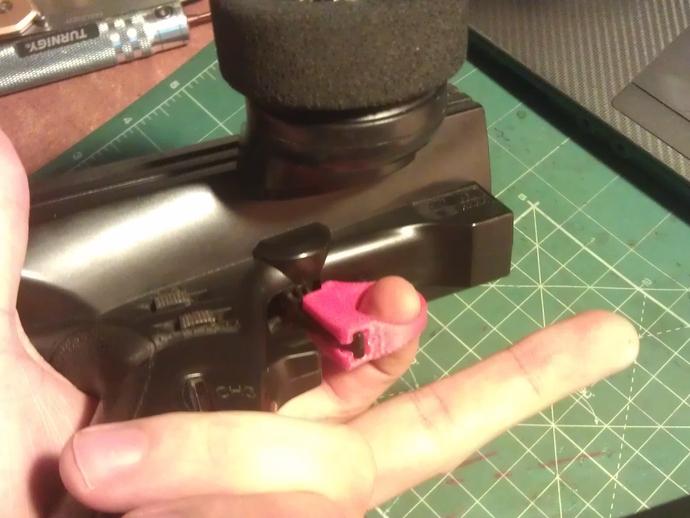 GT3B触发器 3D打印模型渲染图
