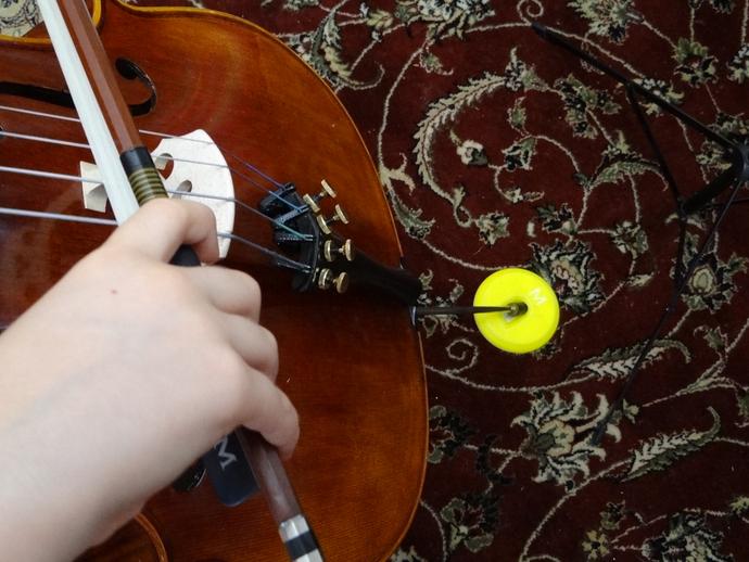 大提琴固定器 3D打印模型渲染图