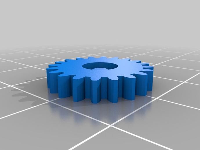 六角螺栓 3D打印模型渲染图