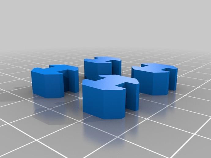 20mm挤压器 3D打印模型渲染图