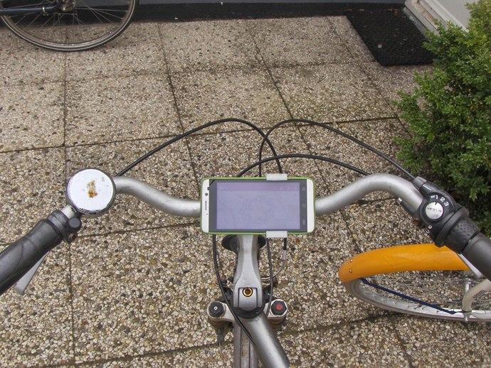 自行车手机支架