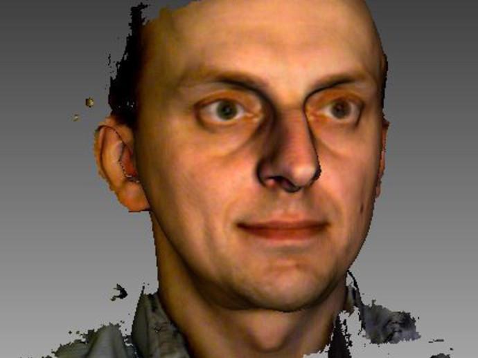 1.09 3D扫描仪 3D打印模型渲染图