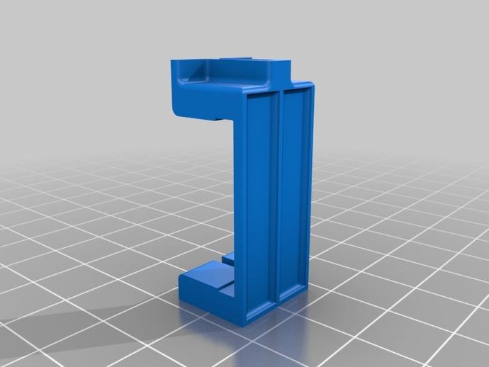 微型组装板 3D打印模型渲染图