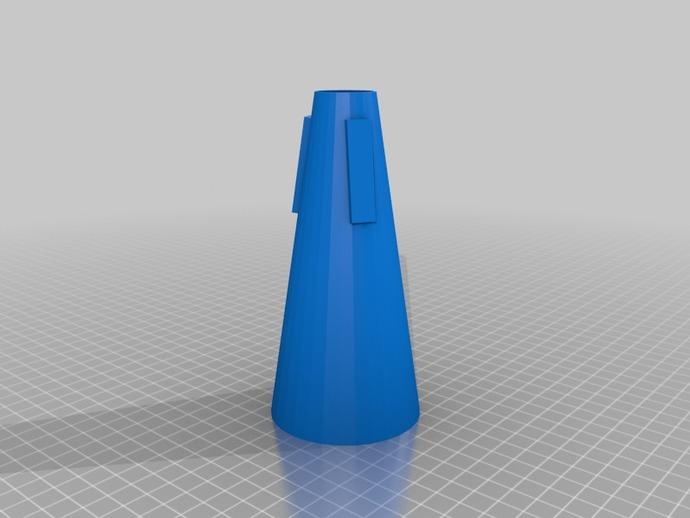 喇叭静音器 3D打印模型渲染图