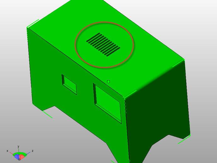 电力供应盒