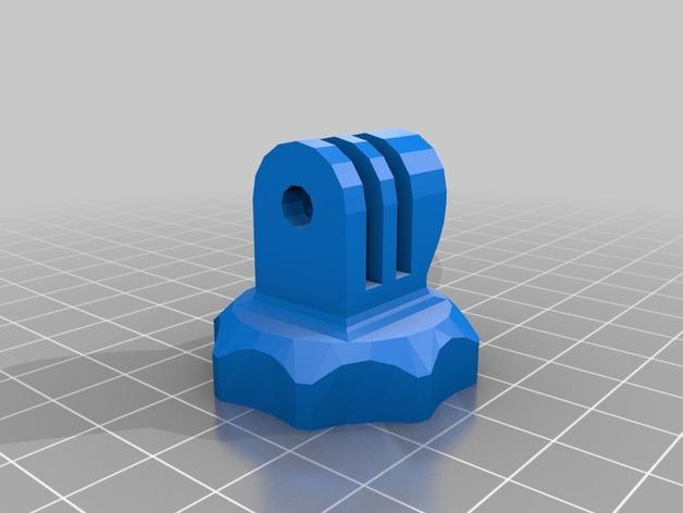 螺丝卡槽 3D打印模型渲染图