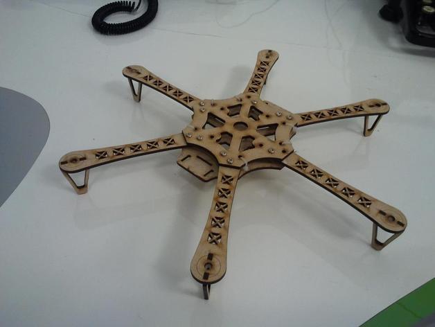 框架 3D打印模型渲染图