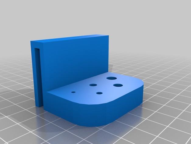 简易刀架 3D打印模型渲染图