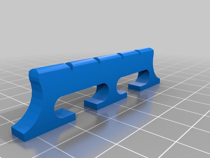 班卓琴架 3D打印模型渲染图