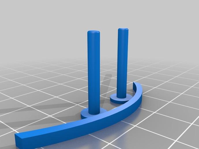 飞镖手枪 3D打印模型渲染图