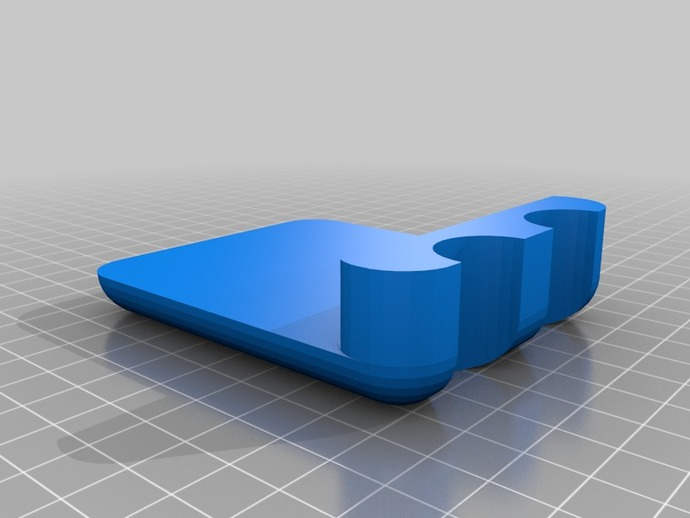台球杆固定夹 3D打印模型渲染图