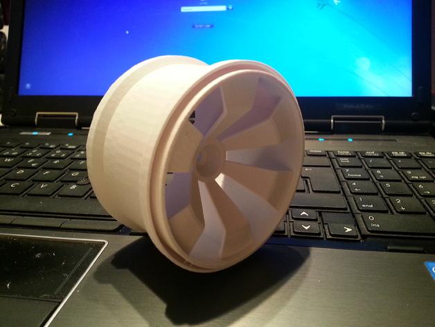 车轮 3D打印模型渲染图