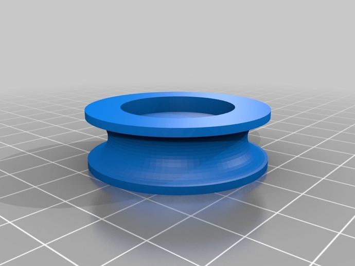船首斜桅转动块 3D打印模型渲染图