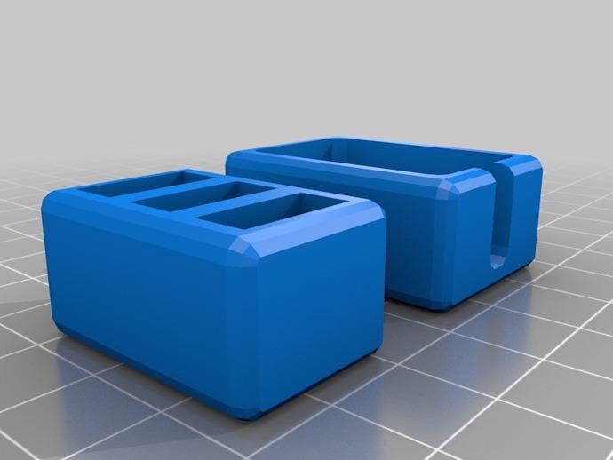 USB衔接器 3D打印模型渲染图