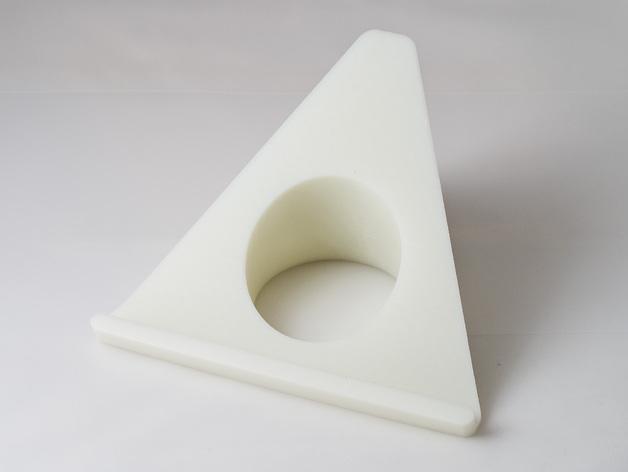 苹果电脑展示架 3D打印模型渲染图