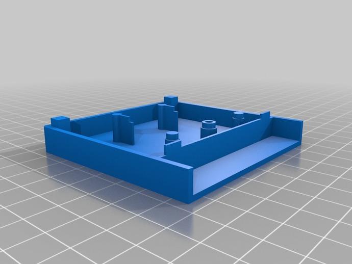 游戏机磁盘盒 3D打印模型渲染图