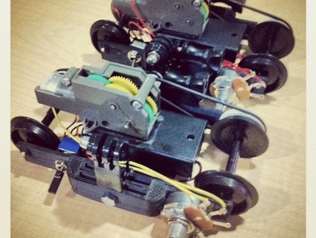 相机运动控制装置 3D打印模型渲染图